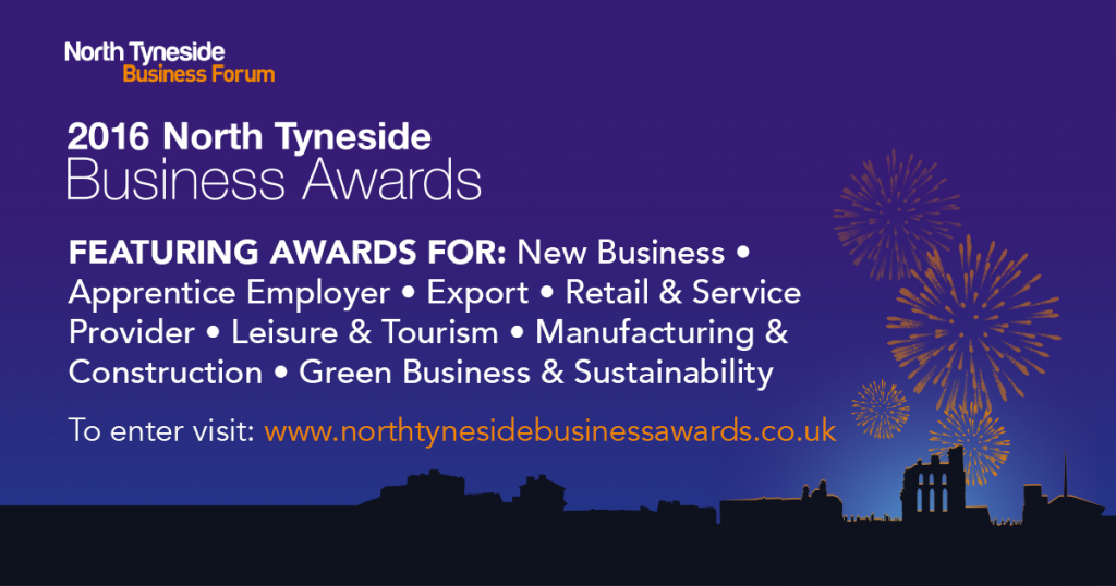 One week left to apply for the North Tyneside Business Awards 2016!
