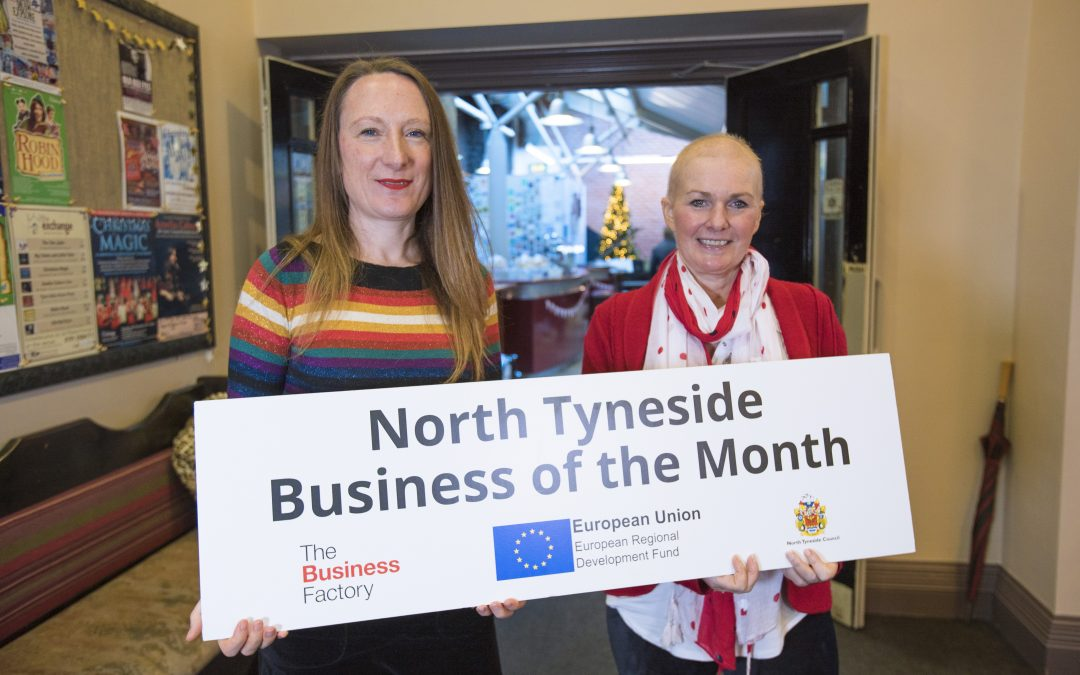 Grays Power of Attorney presented with December's Business of the Month accolade