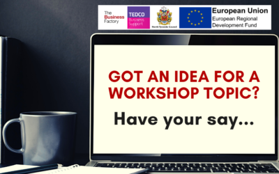 Got an idea for a Workshop topic?