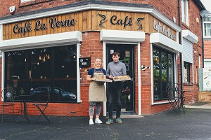 Café la Verne A Warm Welcome - Photo credit For You Photography