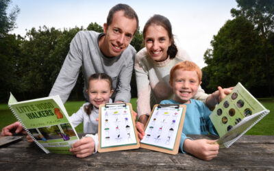 Family Launch New Business to inspire New Little Wood Walkers